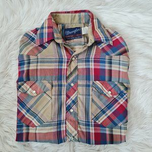 Wrangler X-Long Tails Single Needle Button Up